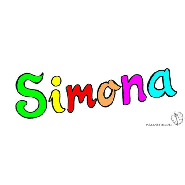 Disegno di Simona a colori