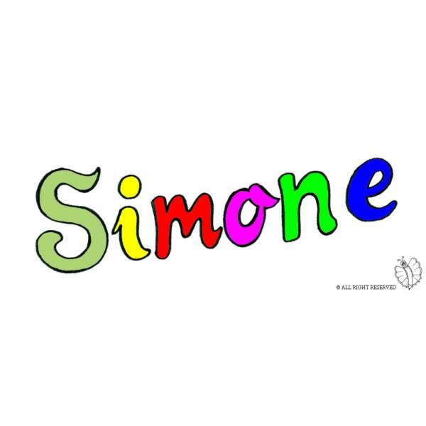 Disegno di Simone a colori