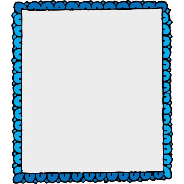 Cornici Per Bambini.Disegno Di Cornice A Colori Per Bambini