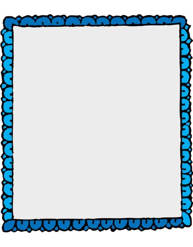 Disegno di cornice a colori per bambini for Cornici per foto colorate