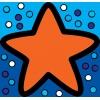 Disegno di Stella Marina a colori