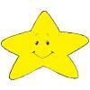 Disegno di Stellina con Sorriso a colori