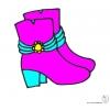 Disegno di Stivali  a colori