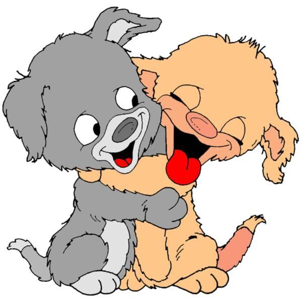 Disegno di Teneri Cuccioli a colori
