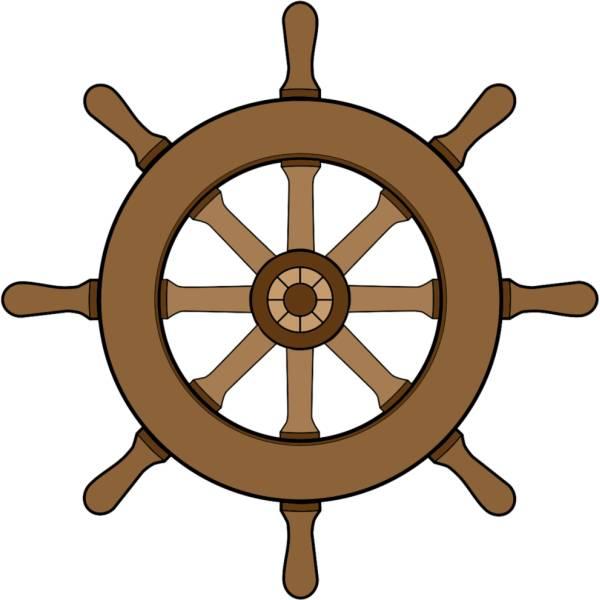 Disegno di Timone della Nave a colori
