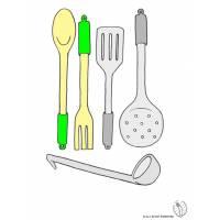 disegno di Cucinare a colori