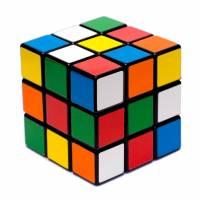 Disegno di Gioco del Cubo a colori