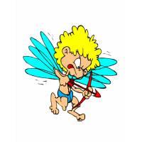 Disegno di Il Piccolo Cupido a colori