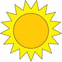 Disegno di Il Sole a colori