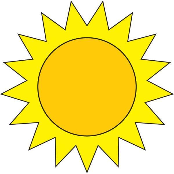 Disegno Di Il Sole A Colori Per Bambini Disegnidacolorareonline Com
