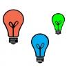 Disegno di Lampadine a colori