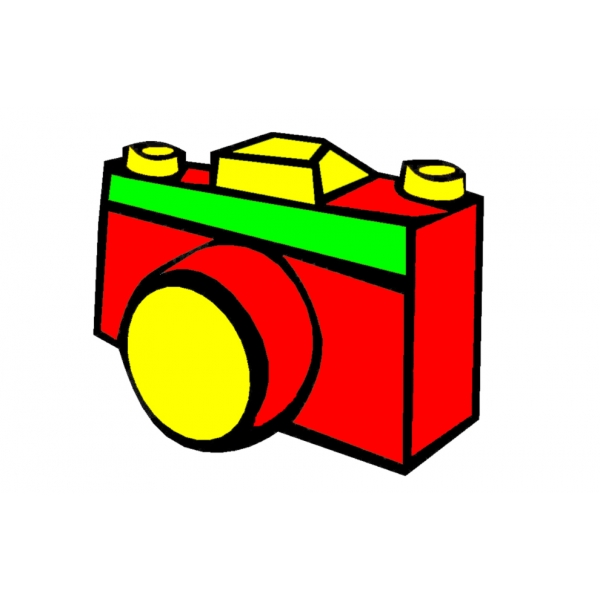 Disegno di Macchina Fotografica a colori
