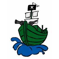 Disegno di Nave Pirata a colori