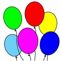 Disegno di Palloncini a colori