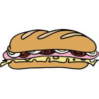 Disegno di Sandwich a colori