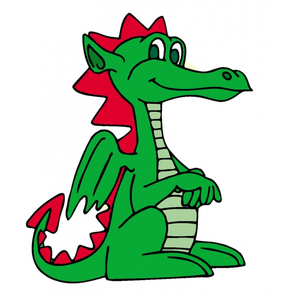 Disegno di Il Piccolo Drago a colori