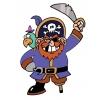 Disegno di Il Pirata a colori