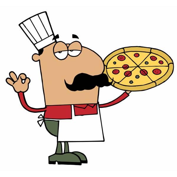 Disegno di Il Pizzaiolo Napoletano a colori