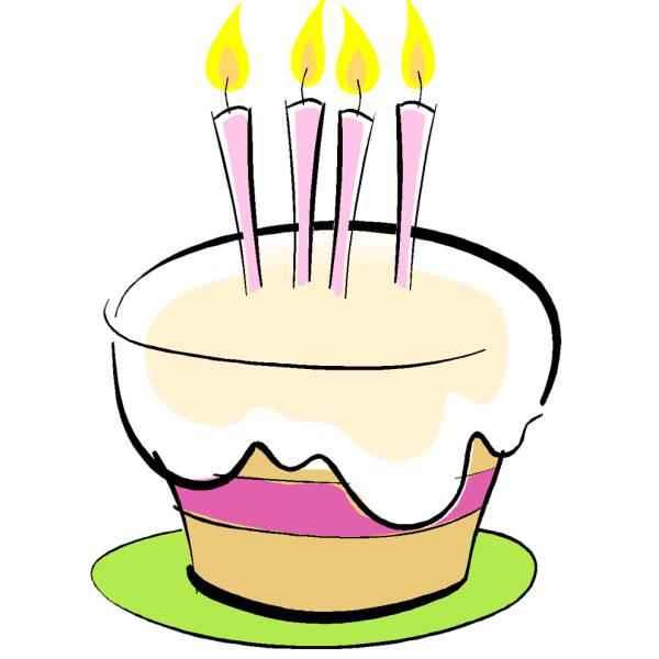 Torta Compleanno Stilizzata.Disegno Di Torta Auguri A Colori Per Bambini Disegnidacolorareonline Com