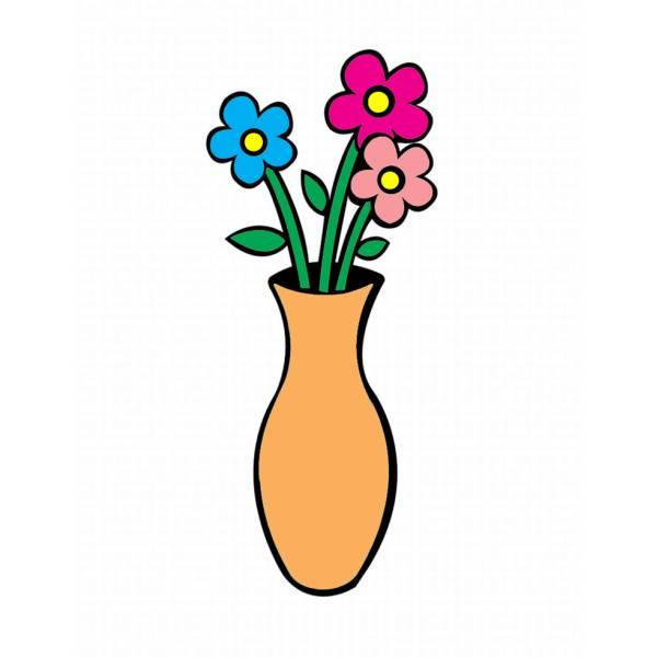 vasi da fiori colorati