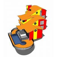 Disegno di casa in 3d da colorare per bambini for Disegno 3d online