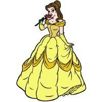 Disegno di Belle Vestito da Sera a colori