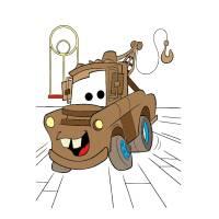 disegno di Cricchetto Cars a colori