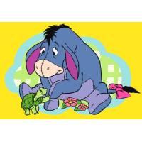 Disegno di Hi Ho e la Tartaruga a colori