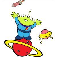Disegno di L'Alieno di Toy Story a colori
