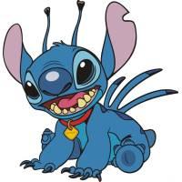 Disegno di Stitch a colori