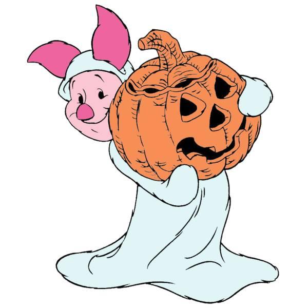 Disegno di Pimpi Hallowen a colori