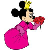 Disegno di Principessa Minnie a colori