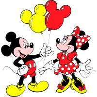 disegno di Topolino e Minnie a colori