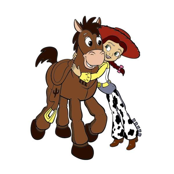 Disegno Di Jessie Toy Story A Colori Per Bambini