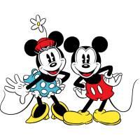 Disegno di Minnie e Topolino Classici a colori
