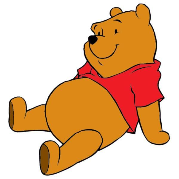 Disegno di Winnie The Pooh a colori