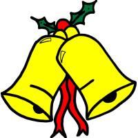 Disegno di Campane di Natale a colori