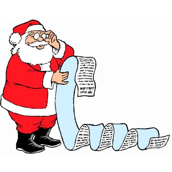 Disegno Di Letterina A Babbo Natale A Colori Per Bambini