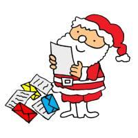 Disegno di Letterina per Babbo Natale a colori