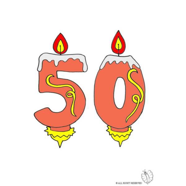 Disegno Di Diciotto Anni Candeline Compleanno A Colori Per