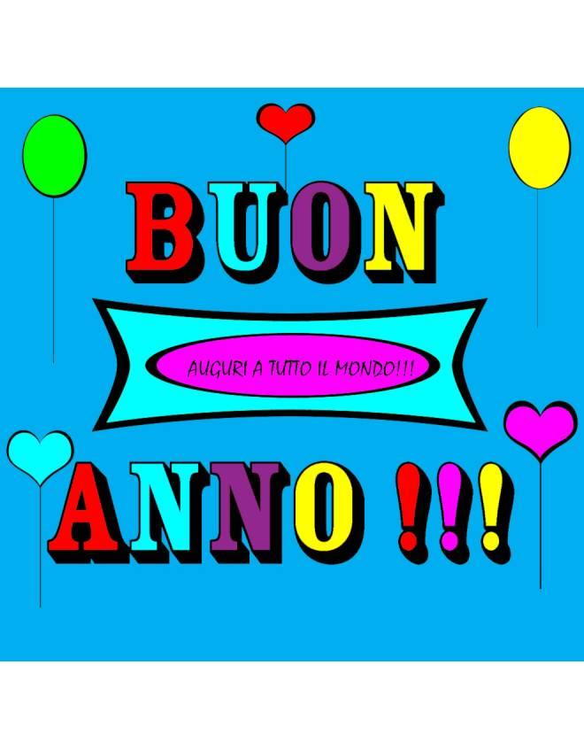 disegno di Buon Anno a colori