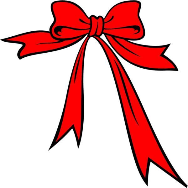 Disegno di Fiocco di Natale a colori