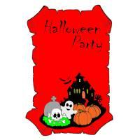 Disegno di Halloween Party a colori