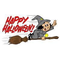 Disegno di Festa di Halloween a colori