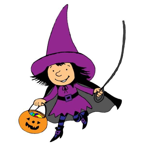 Disegno Di Vestito Di Halloween A Colori Per Bambini