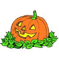 Disegno di La Zucca di Halloween a colori