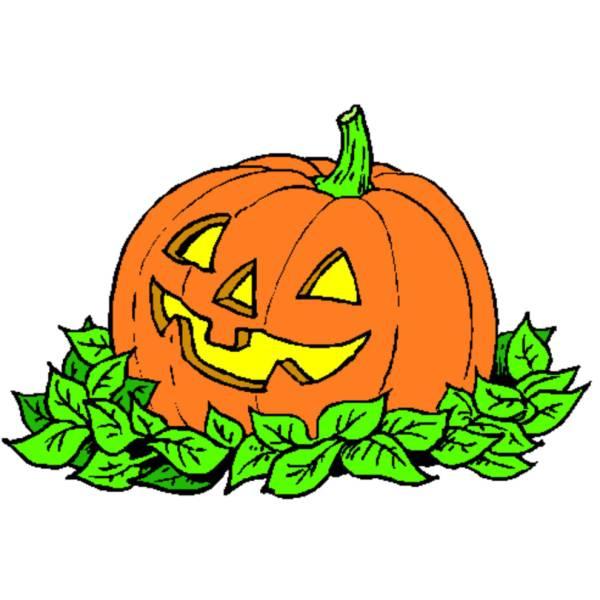 Disegno di la zucca di halloween a colori per bambini - Disegni di zucche ...