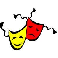 disegno di Maschere di Carnevale a colori
