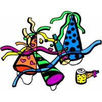 Disegno di Party a colori