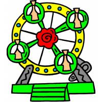 disegno di Giostra Panoramica a colori